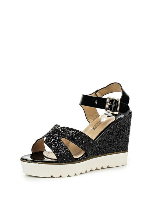 Max Shoes | Женские Чёрные Босоножки