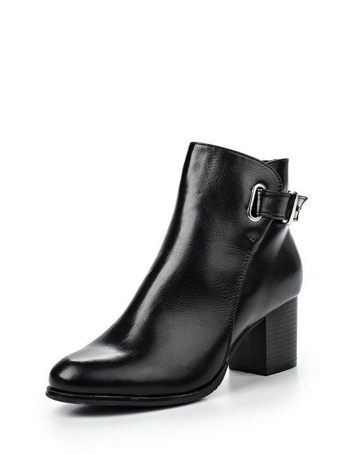 Style Shoes | Женские Чёрные Ботильоны
