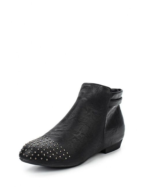 Spot On | Женские Чёрные Ботинки