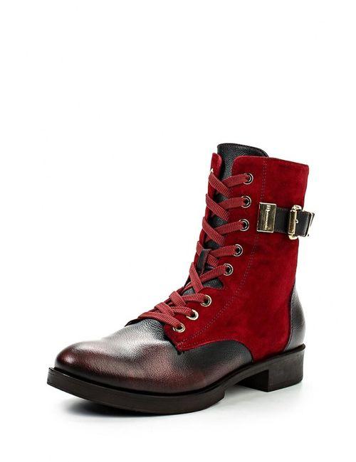 Mamma Mia | Женские Красные Ботинки