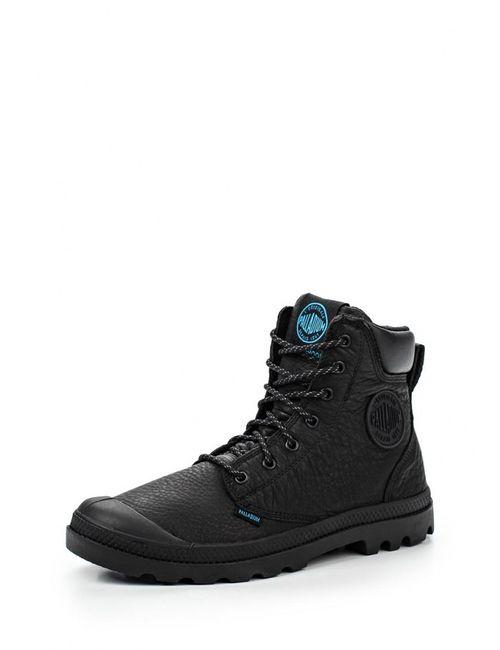 Palladium | Мужские Чёрные Ботинки