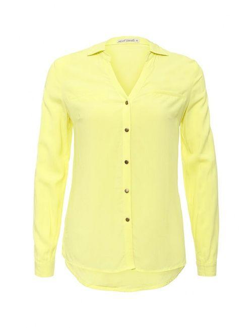 Sela | Женская Жёлтая Блуза