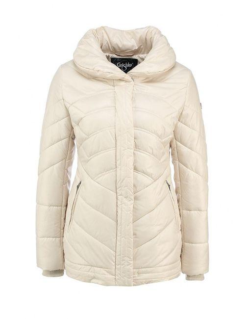 Grishko | Женская Белая Куртка Утепленная