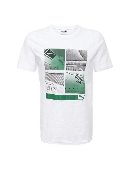 Puma | Мужская Белая Футболка