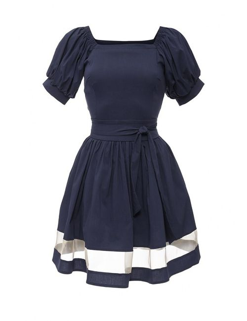 Piena | Женское Синее Платье