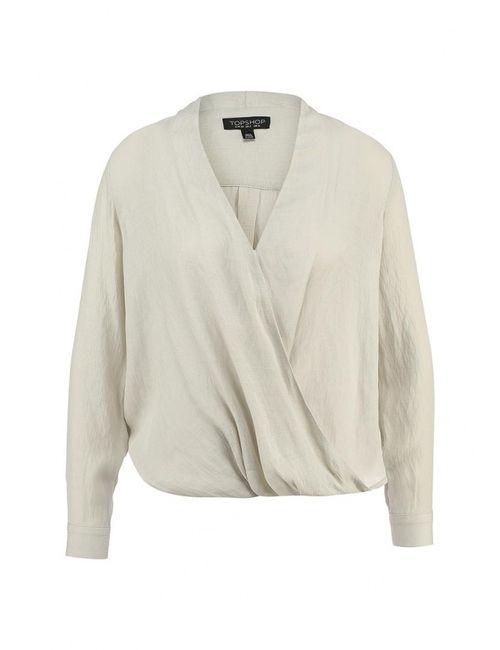 Topshop | Женская Серая Блуза