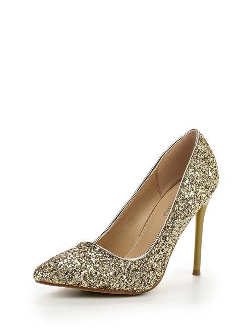 Mada-Emme | Женские Золотые Туфли