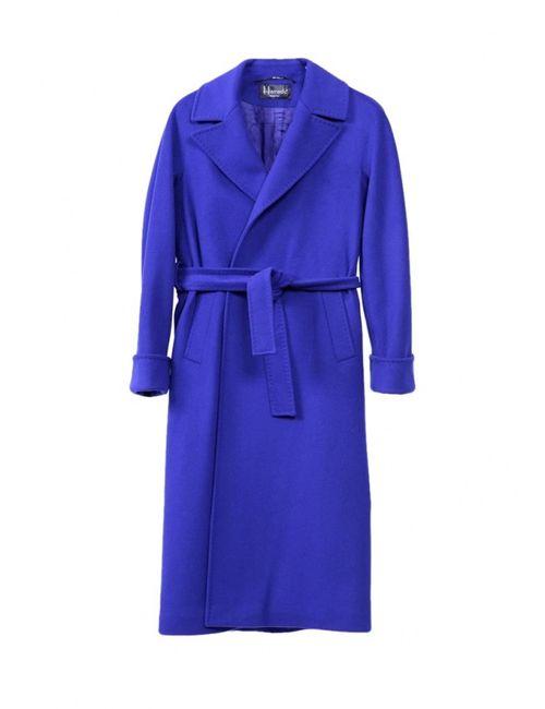 HERESIS | Женское Синее Пальто