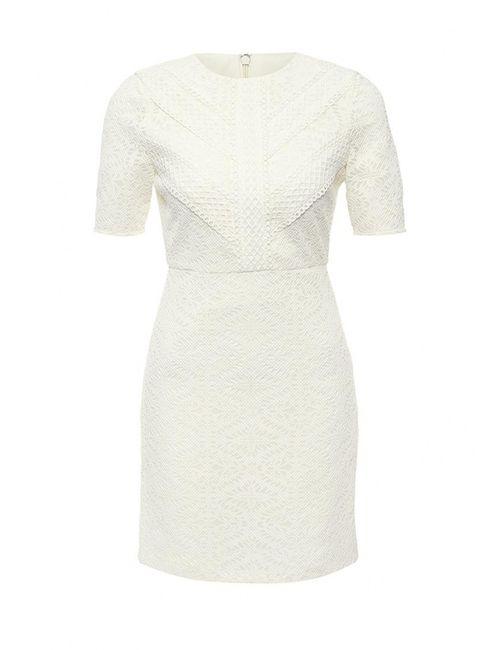 Topshop | Женское Белое Платье