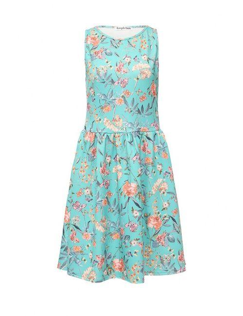 Amplebox | Женское Многоцветное Платье
