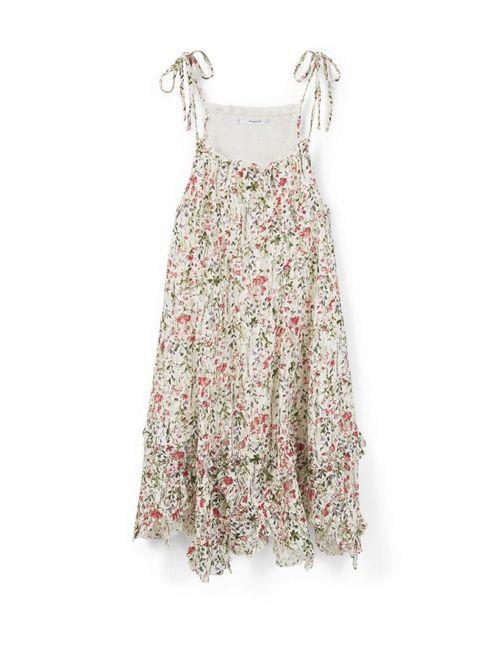 Mango | Женское Многоцветное Платье