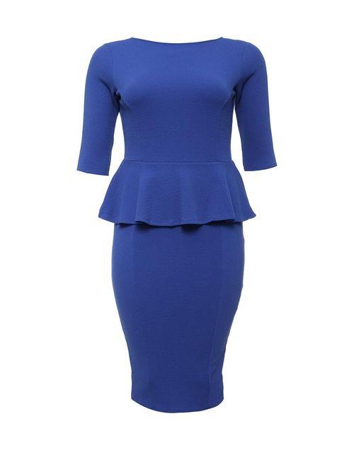 Just Joan | Женское Синее Платье
