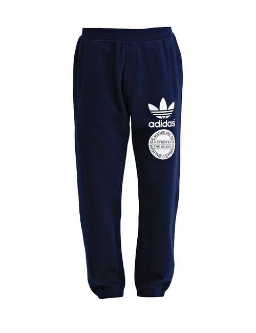 adidas Originals | Мужские Синие Брюки Спортивные