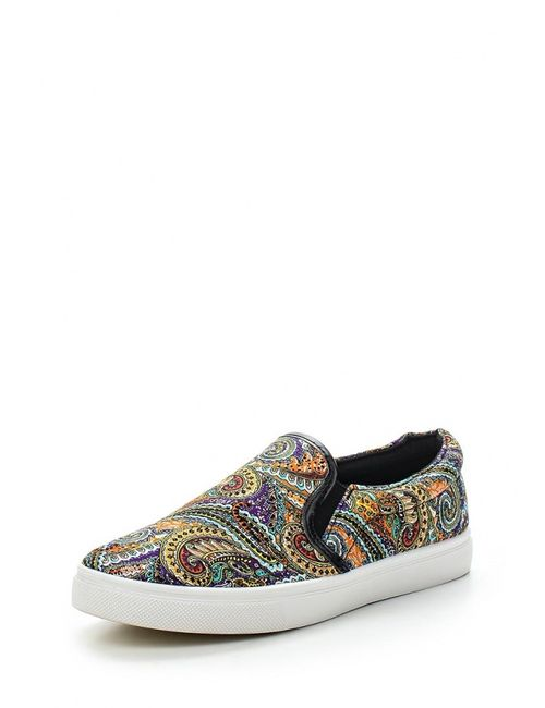 WS Shoes | Женские Многоцветные Слипоны