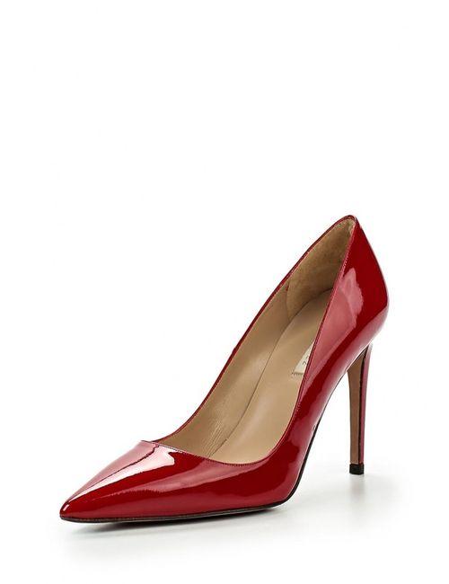 Pura López | Женские Красные Туфли Pura Lopez