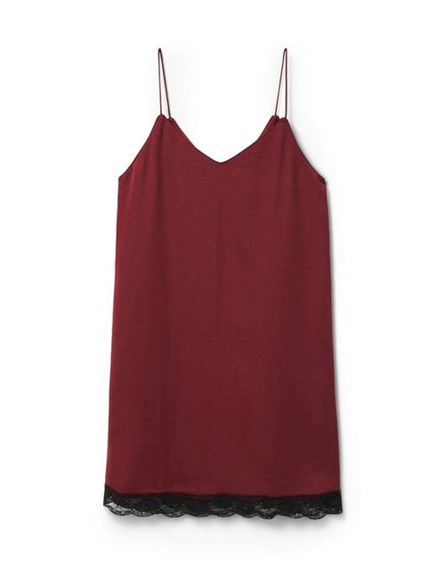 Mango   Женское Красное Платье