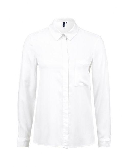 s.Oliver Denim   Женская Белая Рубашка