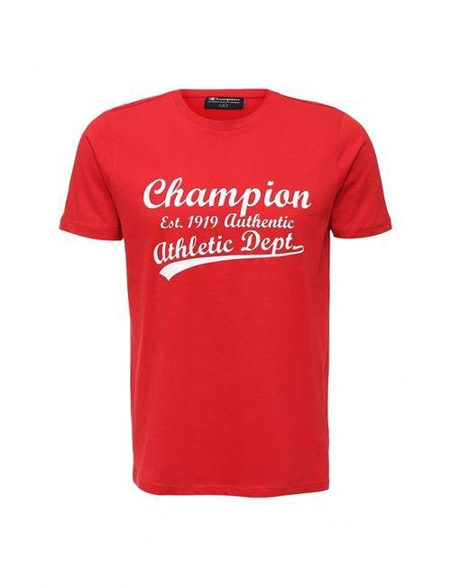 Champion | Мужская Красная Футболка