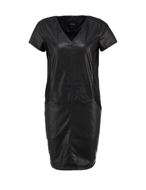 Vila | Женское Чёрное Платье