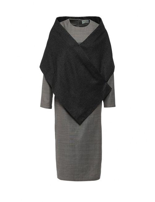 Mos | Женское Серое Платье