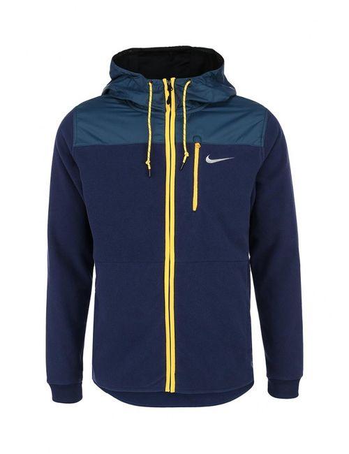 Nike   Мужская Синяя Толстовка