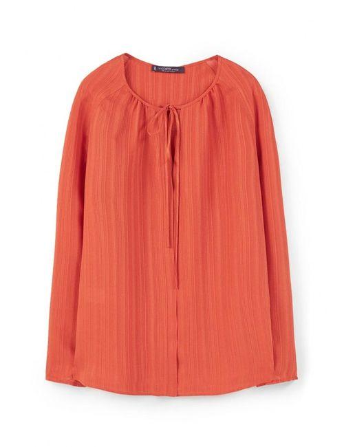 Violeta by Mango | Женская Оранжевая Блуза