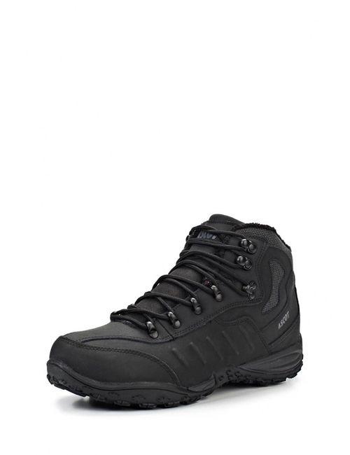 Ascot | Мужские Чёрные Ботинки Трекинговые