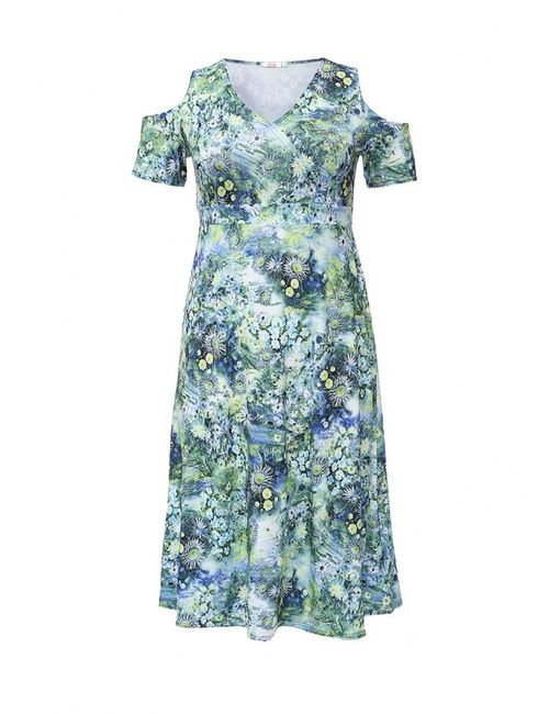 LINA | Женское Многоцветное Платье