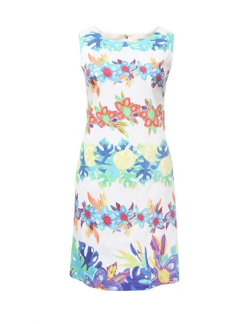 Zarina | Женское Многоцветное Платье
