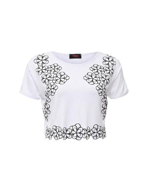 Edge Clothing | Женская Белая Футболка