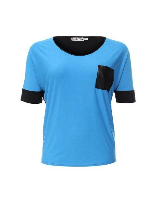 Svesta | Женская Синяя Футболка