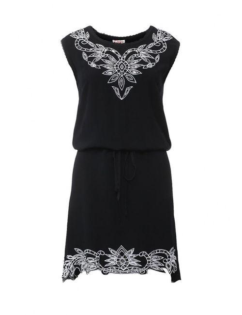 Indiano Natural | Женское Черный Платье