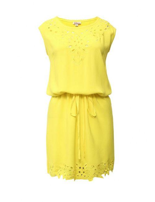 Indiano Natural | Женское Жёлтое Платье