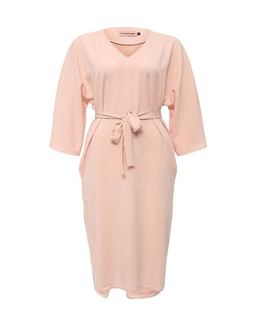 TrendyAngel | Женское Розовое Платье