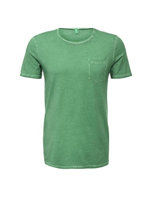 United Colors Of Benetton | Мужская Зелёная Футболка