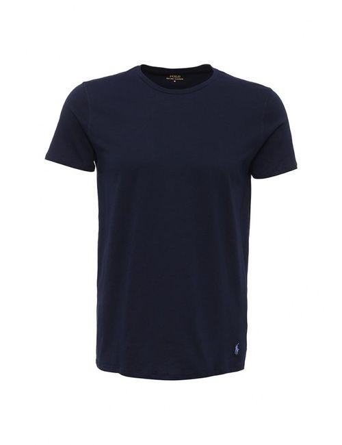 Polo Ralph Lauren   Мужская Синяя Футболка