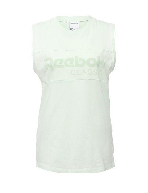 Reebok Classics | Женская Зелёная Майка