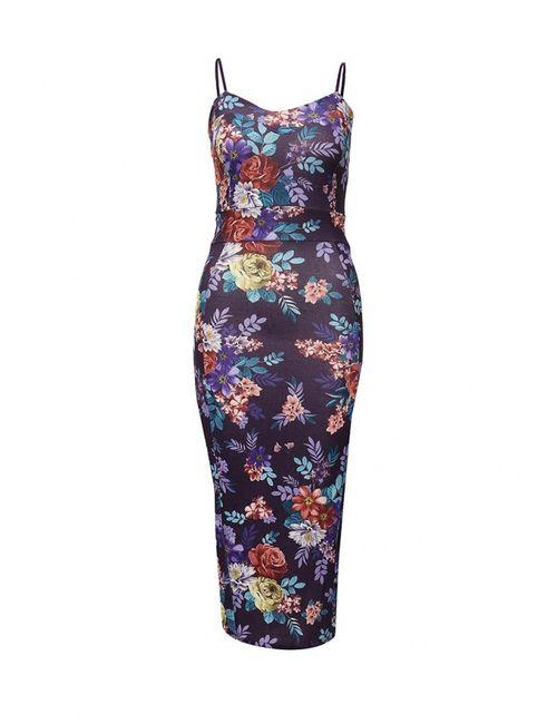 Missi London   Женское Фиолетовое Платье