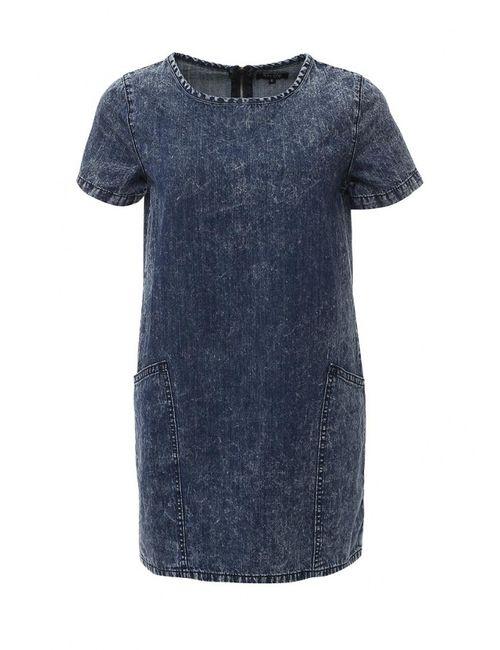 Stella | Женское Синее Платье Джинсовое