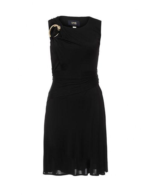 Cavalli Class | Женское Чёрное Платье