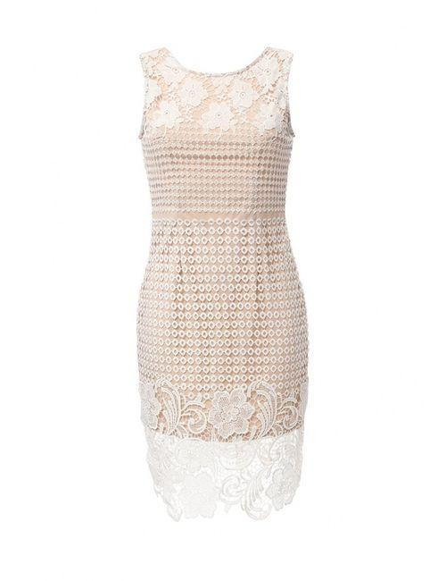 Stella | Женское Бежевое Платье