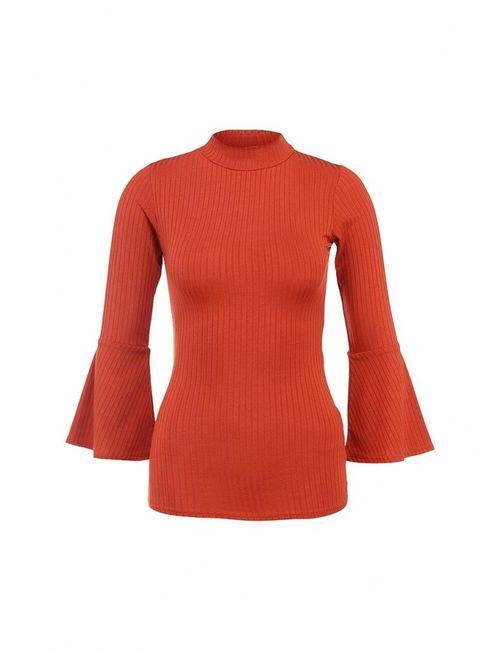 Edge Clothing | Женская Оранжевая Водолазка