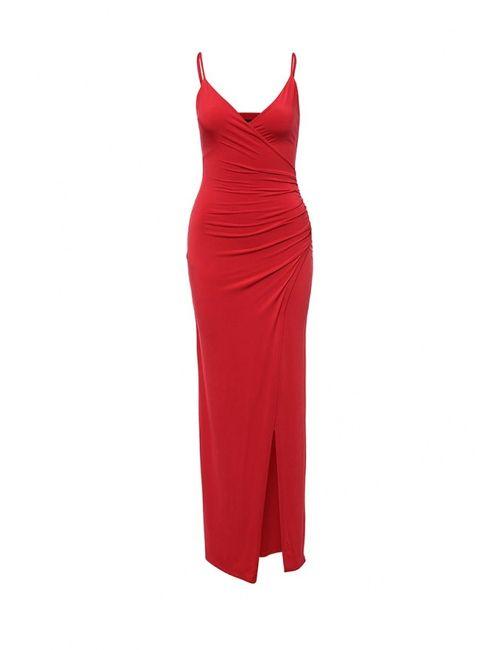 Ad Lib   Женское Красное Платье