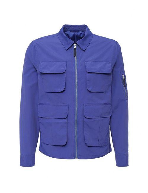 River Island   Мужская Синяя Куртка