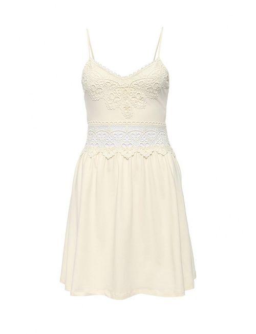 Topshop | Женское Бежевое Платье