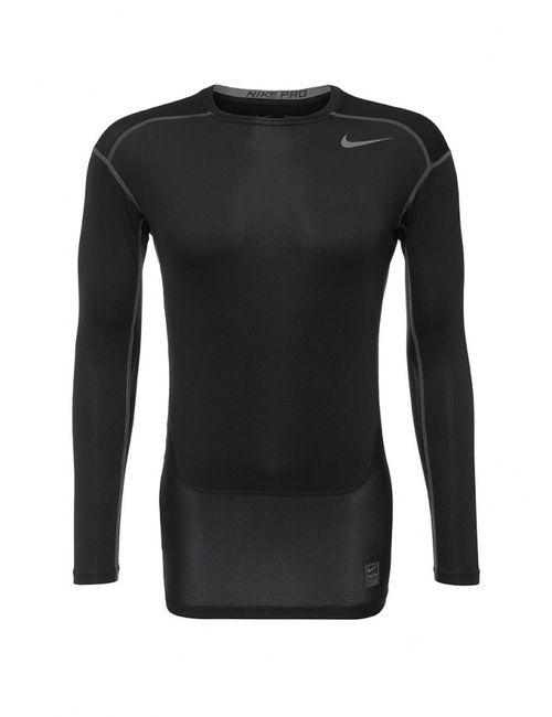 Nike | Мужской Чёрный Лонгслив Компрессионный