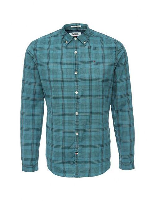 Tommy Hilfiger Denim | Мужская Зелёная Рубашка