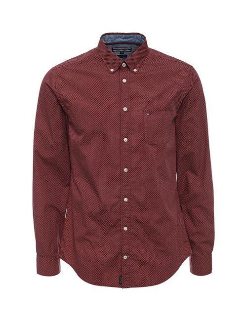 Tommy Hilfiger | Мужская Красная Рубашка