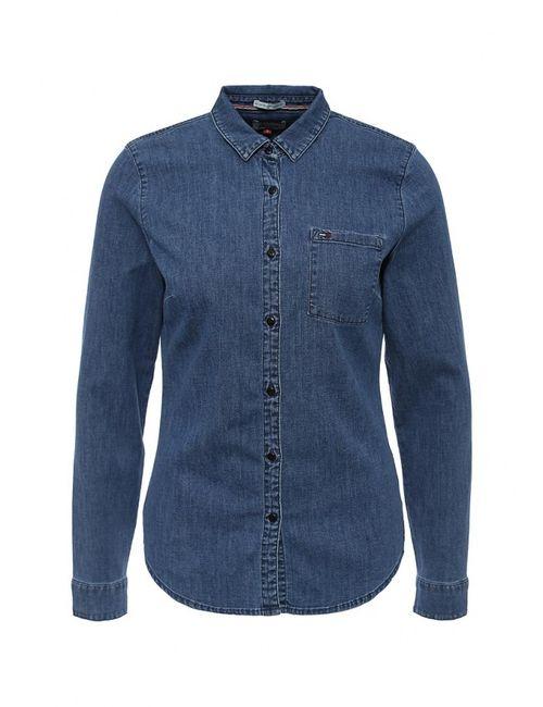 Tommy Hilfiger Denim | Женская Синяя Рубашка Джинсовая
