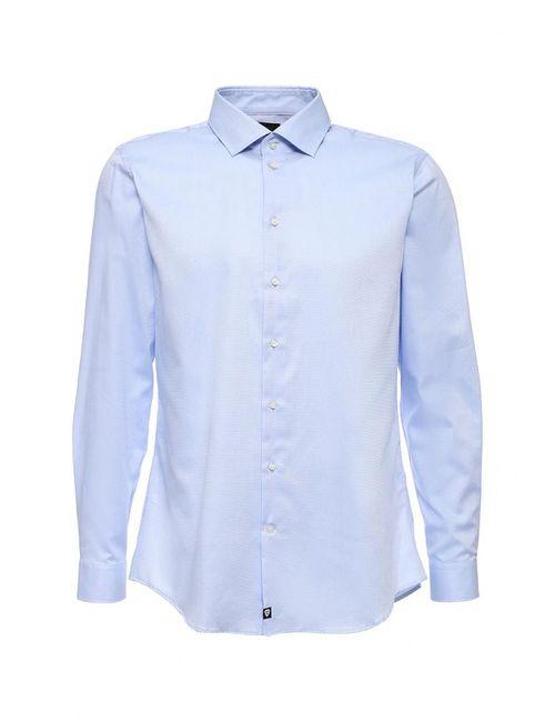 Strellson | Мужская Голуба Рубашка